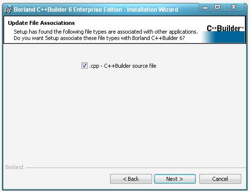 Окно запроса на изменение ассоциации файлов