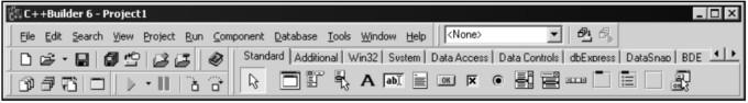 Главное окно интерфейса