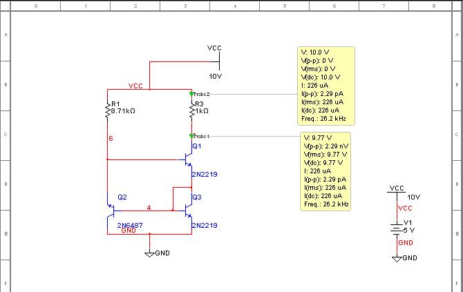 Исследование транзисторного источника тока