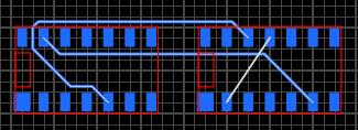 Автотрассировка линий связи