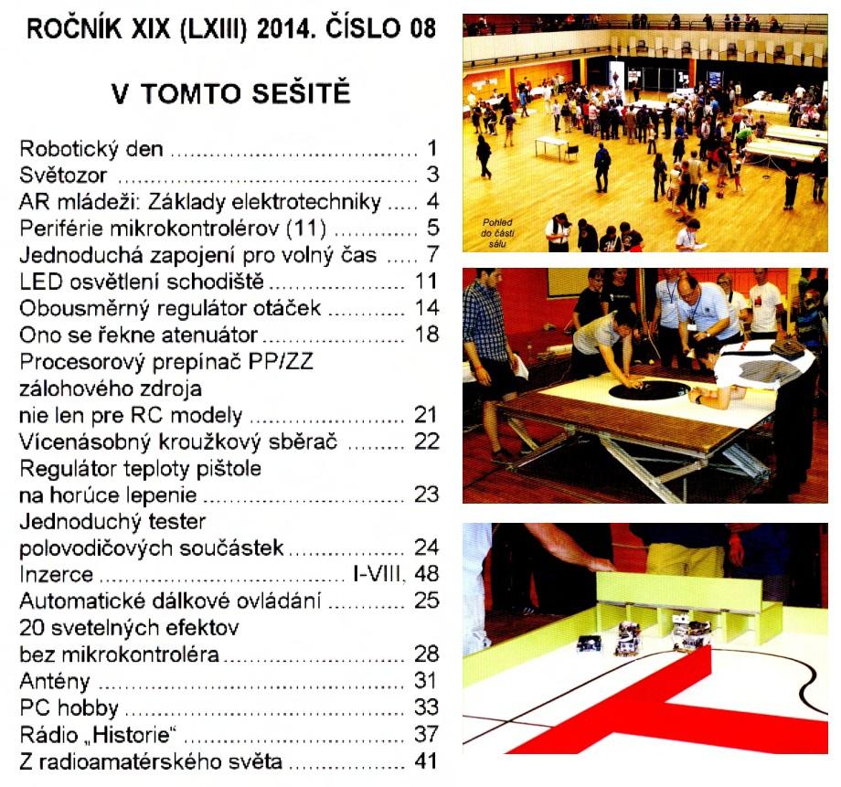 Prakticka Elektronika №8 2014
