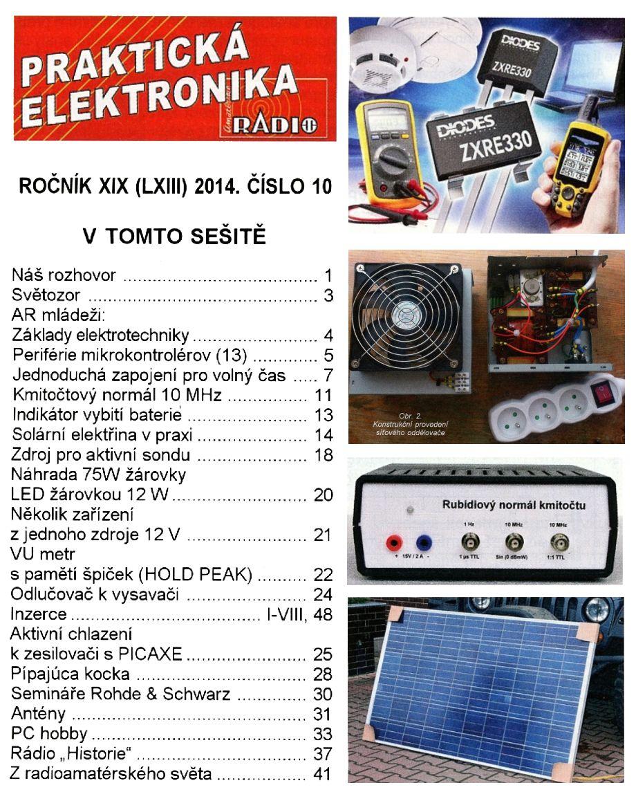 Prakticka Elektronika №10 2014