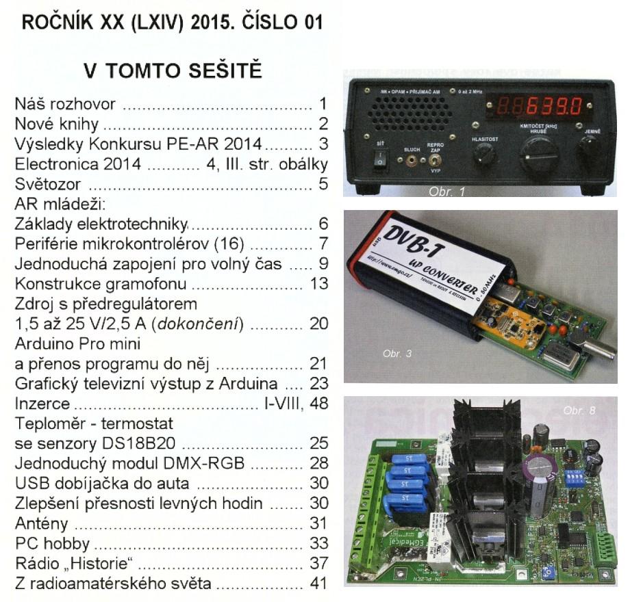 Prakticka Elektronika №1 2015