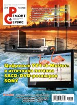 Анонс журнала  Ремонт и Сервис №3 2012г