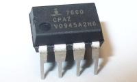 Получение удвоенных двухполярных напряжений в преобразователе на микросхемах серии ICL7660