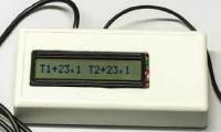 Двухзонный термометр на РIС-контроллере