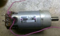Регулятор частоты вращения коллекторного двигателя с ОС по противоЭДС якоря