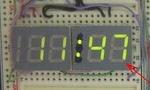 Вывод даты-времени на 4-разрядный LED-индикатор