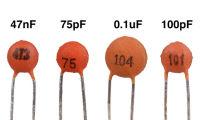 Маркировка керамических конденсаторов