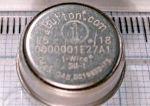 Температурный регистратор семейства iButton с 8 КБ памяти данных DS1922L-DS1922T