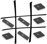 Игра Крестики-нолики на микроконтроллере ATMega16