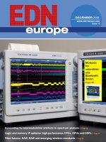 EDN Europe 12  2013г