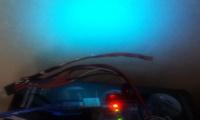 Измеряем температуру RGB лентой