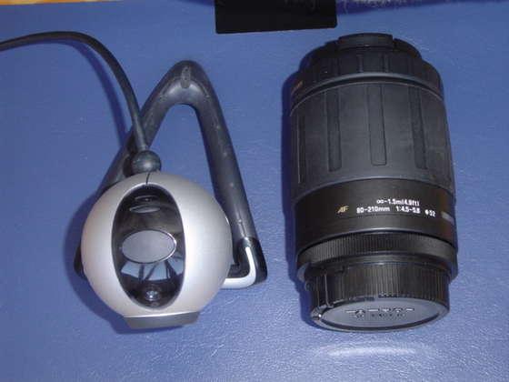 Веб камера и телескоп своими руками 25