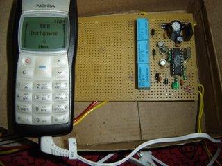 Необычное управление замком с мобильного телефона