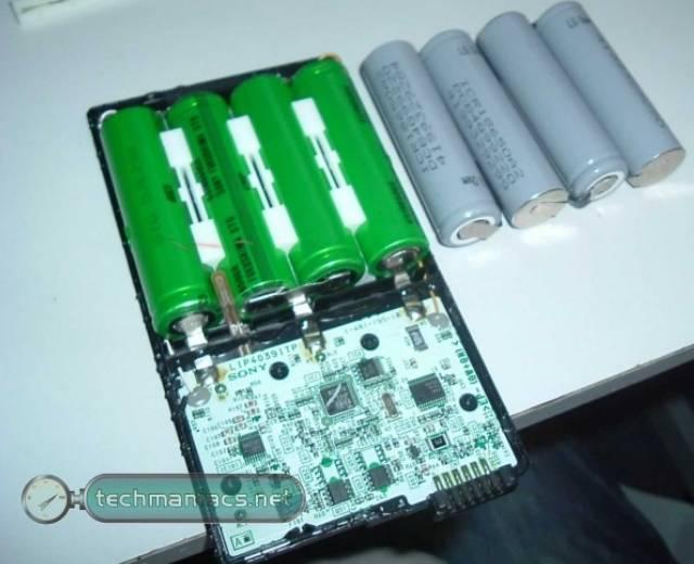 Внешний аккумулятор своими руками для ноутбука