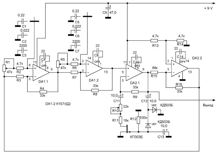 Генератор гс-100у2 электрическая принципиальная схема.  Схемы для пси генераторов.