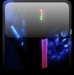 Индикатор загрузки процессора и винчестера