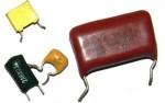 Цветовая маркировка номинальной емкости, допустимого отклонения емкости и номинального...