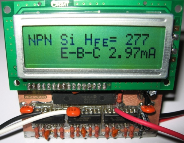 Рис.6 Меряем транзистор