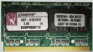 172 pin MICRODIMM DDR1-2