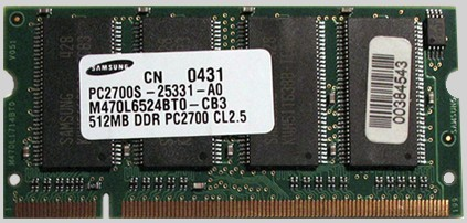 200 pin DDR SO-DIMM