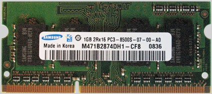 204 pin DDR3 SO-DIMM