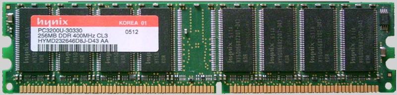 184 pin DDR