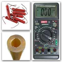 Мультиметр Резисторы Заготовка для щупа
