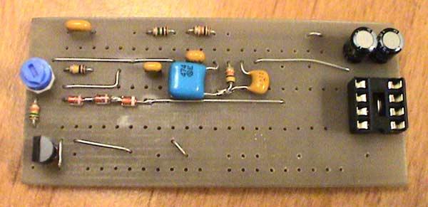 Подстроечным резистором