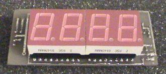 ICL7107 / ICL7106 - Digital Voltmeter.