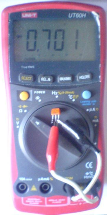Мультиметр UT60H