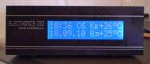 Часы термометр-будильник Mega168 DS1307(M41T56) DS18x20 LCD16x2