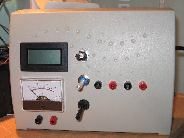 Импульсный блок питания на базе БП ПК.