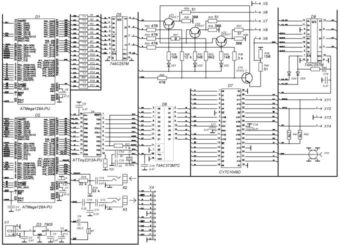 Схема сборки замка