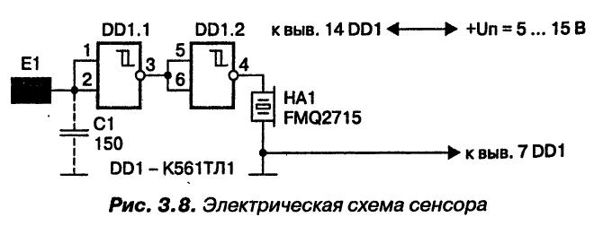 Кашкаров. сенсорный датчик
