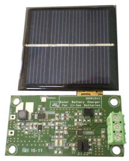 демонстрационная плата зарядного устройства на солнечной батарее STEVAL-ISV012V1