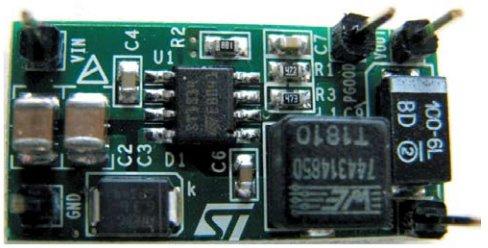 Демонстрационная плата STeVAl-iSA104V1 на базе микросхемы ST1S14