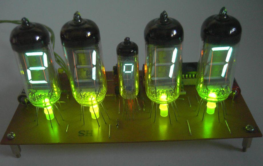Зеленая подсветка