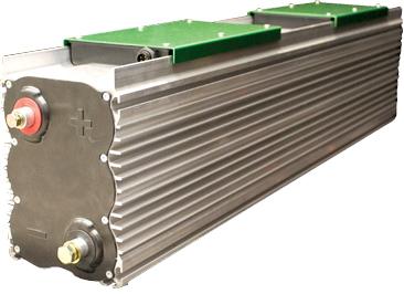 Модуль ультраконденсаторов производ- ства Ioxus на базе элементов цилиндрической формы