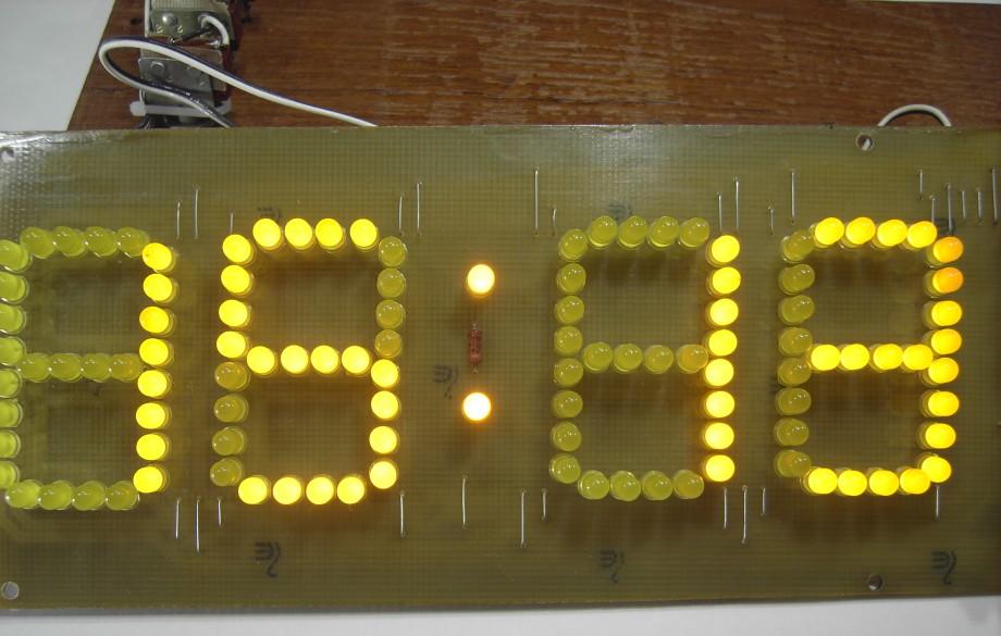 четырех светодиодная матрица