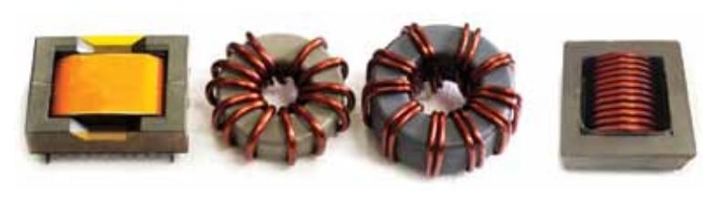 Дроссели, испытывающиеся в эксперименте компании West Coast Magnetics