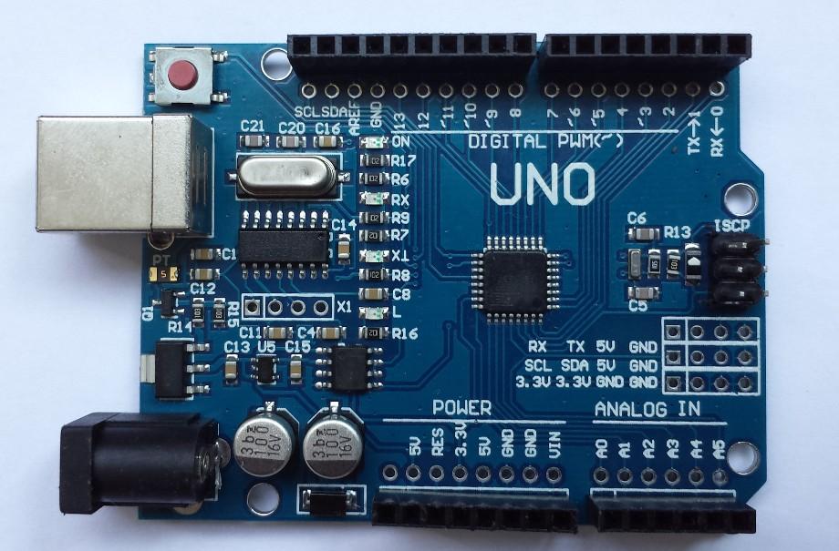 Китайская Arduino UNO