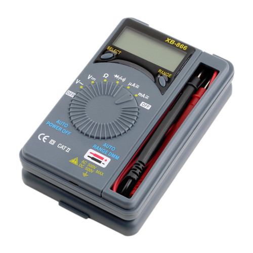 Карманный цифровой мультиметр XB-866