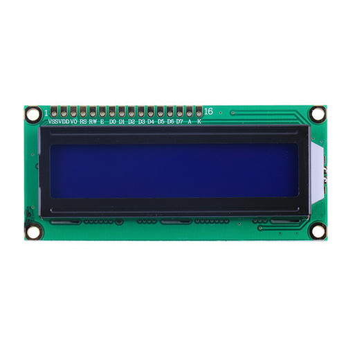 LCD 16x2 1602 HD44780 дисплей