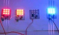 Цветодинамическая установка на микроконтроллере