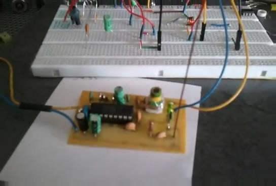 Fm стерео передатчик на BA1404