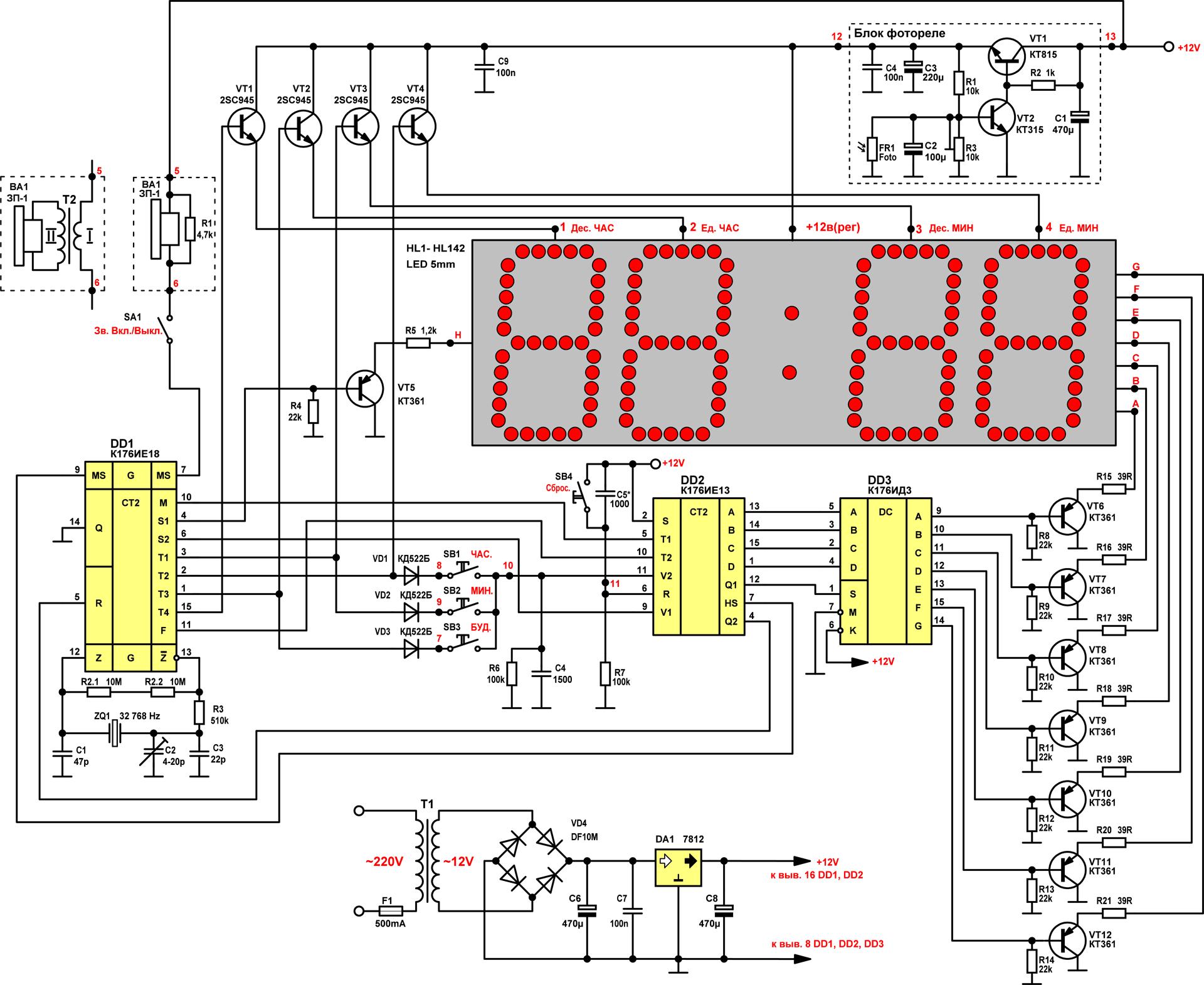 Сувенирные часы «Электроника 8-5»